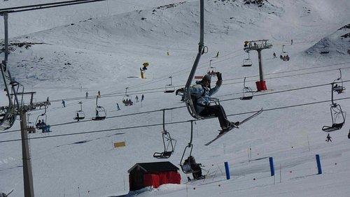 estação de ski sierra nevada
