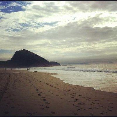 praia do leme :)