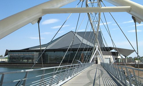 TCA through the walking bridge