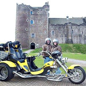 Stirling Trike Tour to Doune Castle & beyond