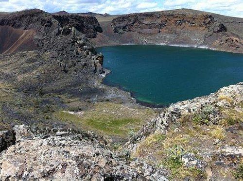 laguna azul - río Gallegos. enigmatic windy spot.