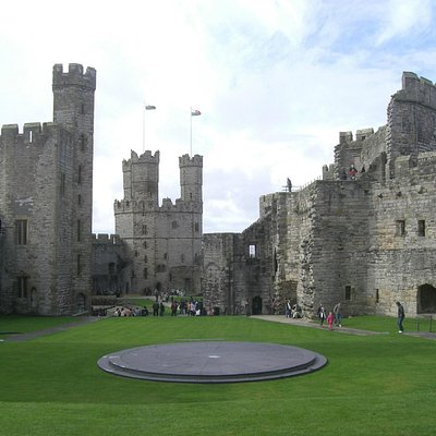 Caernarfon castle, Caernarfon, North Wales