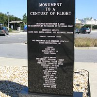 Marker for Monument to a Century of Flight