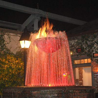 Flaming Fountain