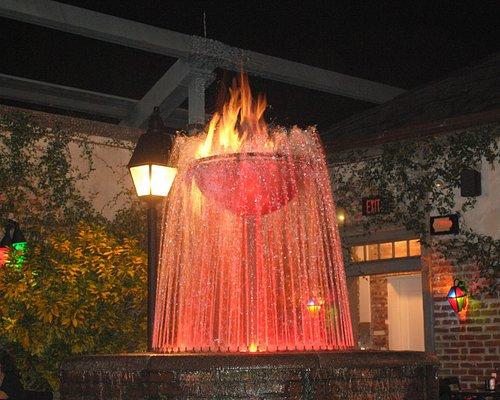Flaming Fountain