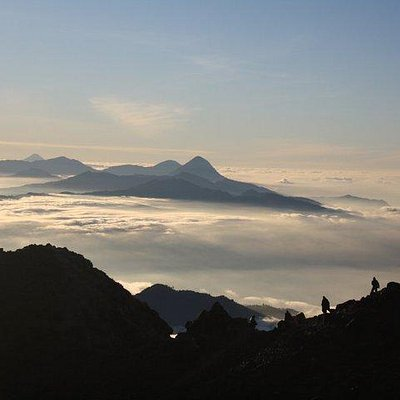 amanecer en Tajumulco