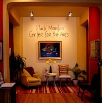 Inside the Black Mountain Center for the Arts