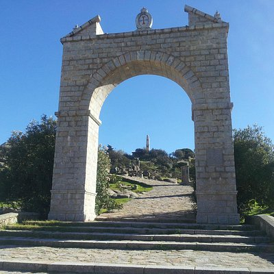 Arco de entrada al Santuario