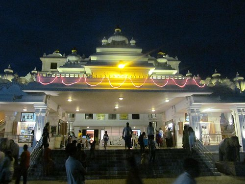 ISKCON Temple Front View