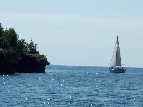 Sailing around Devil's Island