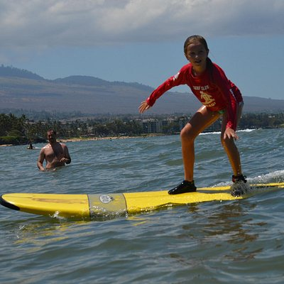Kids love Surf Club Maui