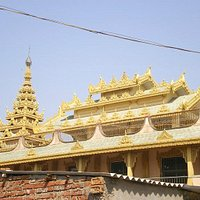 Burmese monastery bodhgaya