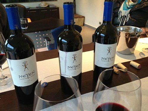 Neyen fine wine tasting