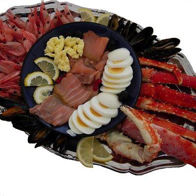 King Crab  (shellfish platter)
