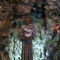 Presepe artistico: ingresso San Francesco d'Assisi