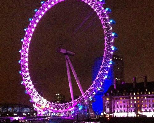London Eye NYE 2012
