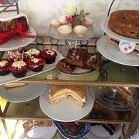 Large selection of cakes