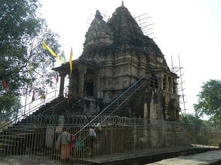 Temple from Lakshman Temple
