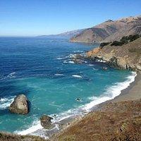California coastline near Big Sur