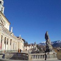 Clusone, the view