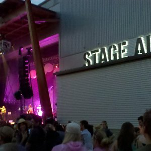 Outdoor shot of Stage AE.