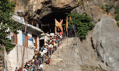 Shiv Khori Cave Entrance 2