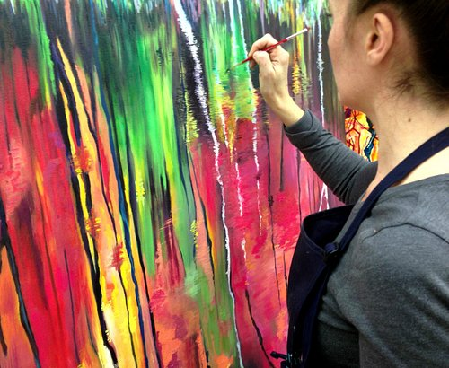 Private Painting Lessons and Parties in NYC
