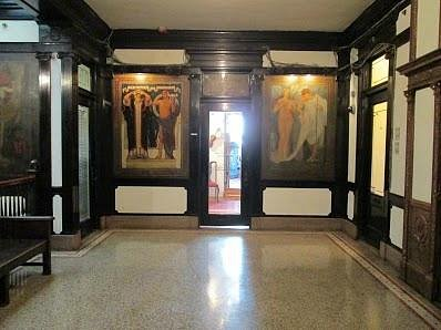 Murals - Top Floor View 2
