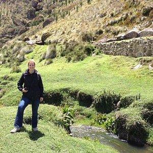 Cumbemayo river and pre-Inca aqueduct