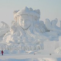 Largest Snow Sculpture in the World 2013