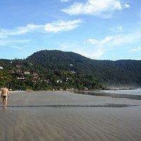 vista geral da praia