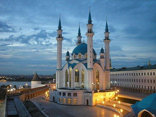 Kul Sharif mosque in Kazan Russia