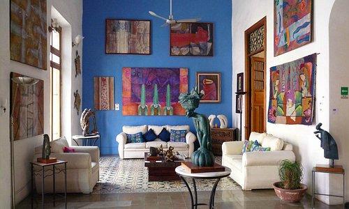 Interior de Nahualli Casa de los Artistas