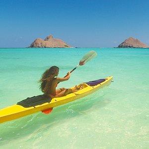 Kayaking in Kailua