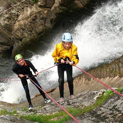 Jean-Larose Falls, Mont-Sainte-Anne