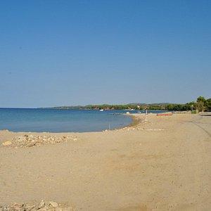 Northen part of Nikiti beach