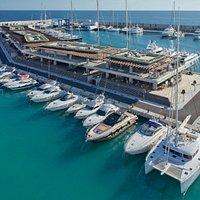Port Adriano von oben