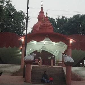 The Temple at Evening