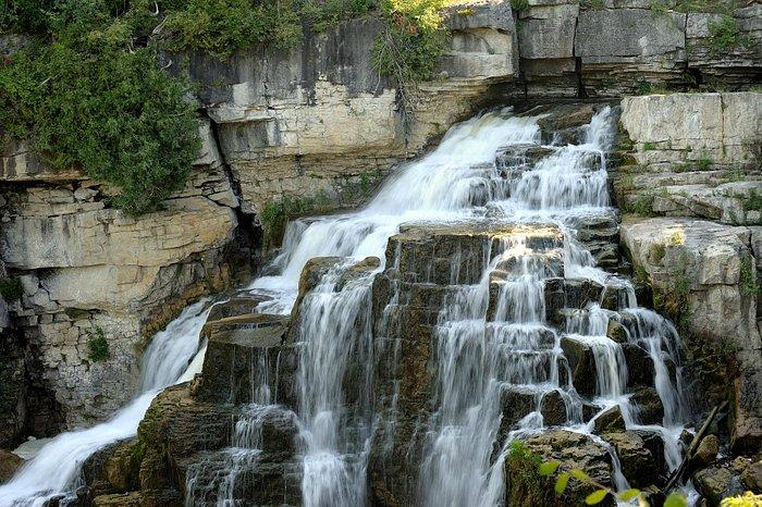 Inglis Falls in summer