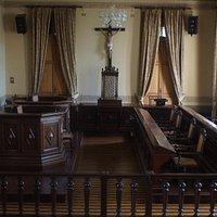 Palacio da Justica trial room