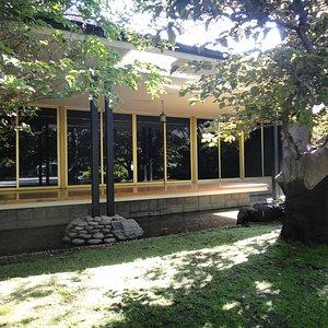Detalhe da casa que abriga o Museo de La Moda
