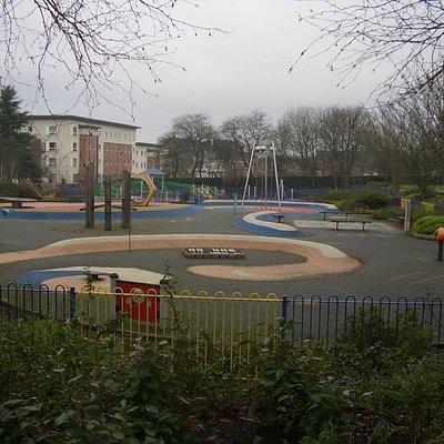 Childrens play area, Hanley Park