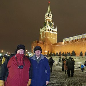 New Years eve on Red Square 2012