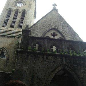 the baptist church.