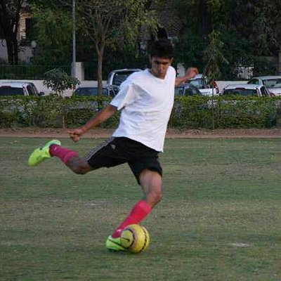 Babel Anshul in action at Field Club