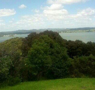 Flagstaff Hill - view to Paihia & Waitangi