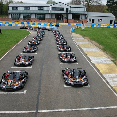 Ancaster karts on the Grid