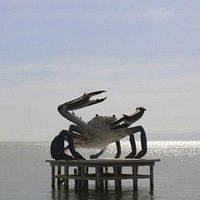 Kep Giant Crab Monument