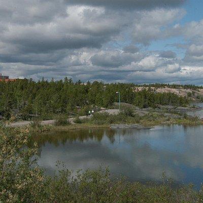 Frame Lake Trail Yellowknife, NWT