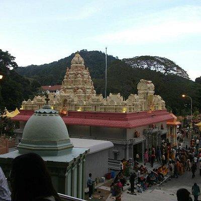 Ganesha shrine at the bottom
